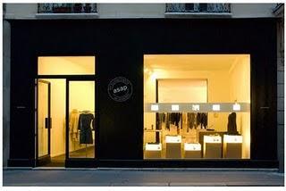ASAP ouvre sa boutique parisienne
