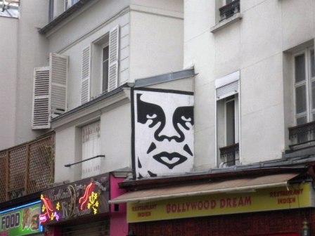 Frank Shepard Fairey, aka Obey – Rue Saint Maur (75011)
