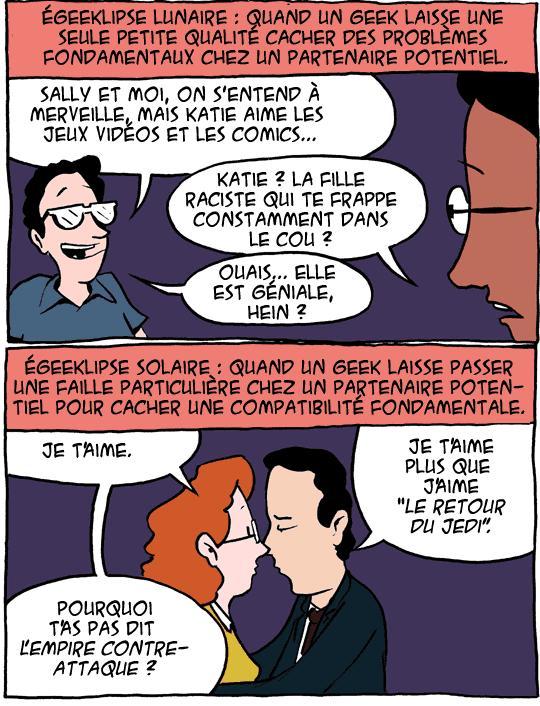 Les geeks, l'amour et l'égeeklipse
