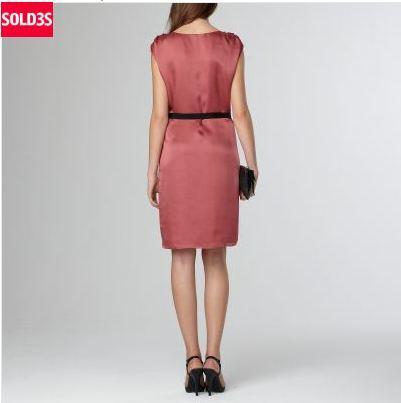 Robe en soie Collection Premium 3 Suisses en soldes
