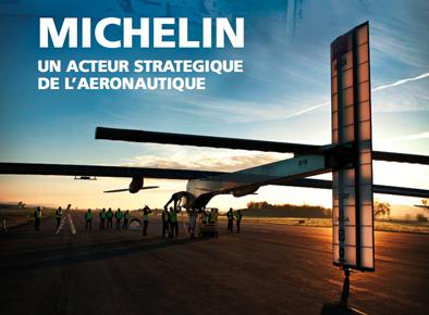 Aviation : Michelin partenaire de Solar Impulse, l'avion solaire