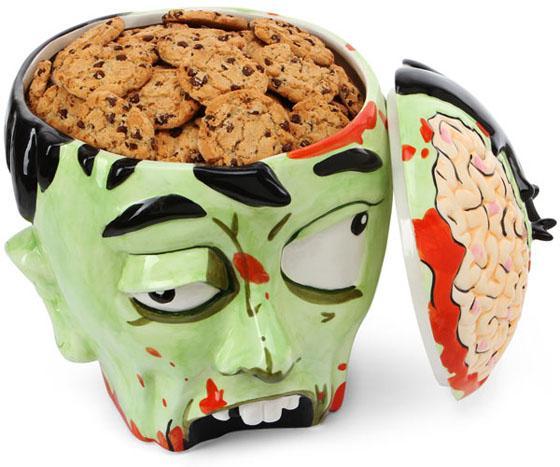 zombie cookie jar Une tête de zombie pour vos cookies