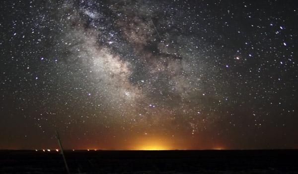 timelapse Un time lapse de la voie lactée filmé par Randy Halverson