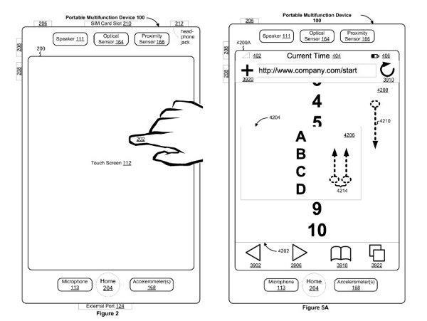 6 22 2011applepatent Apple roi des terminaux multitouch