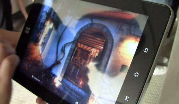 Smart Une tablette tactile à écran piezo électrique chez Smart Devices