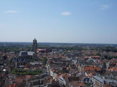 Le coeur de la cité de Bruges