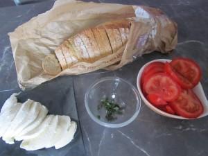 ingrédients sandwich façon pain perdu