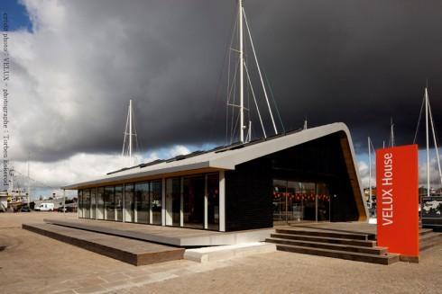 La Rochelle : installation définitive du Pavillon Vélux Urban Life