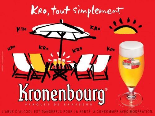 kronenbourg 03 500x375 Nouvelle campagne pour la Kro