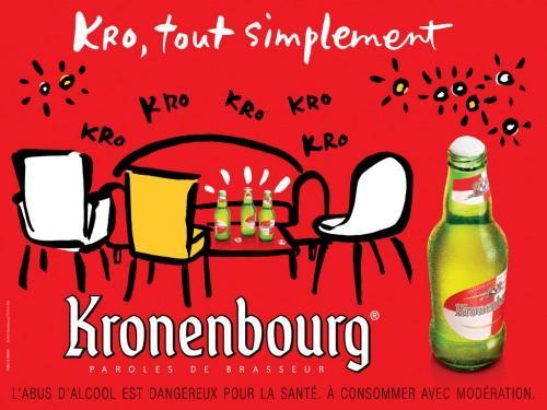 kronenbourg 01 500x375 Nouvelle campagne pour la Kro