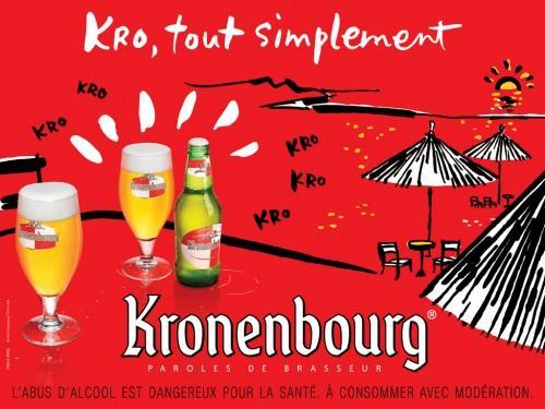 kronenbourg 02 500x375 Nouvelle campagne pour la Kro