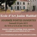 Journée portes ouvertes de l'Ecole d'Art Janine Haddad