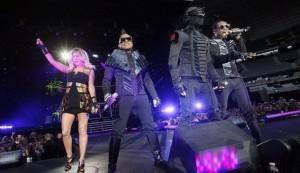 Les Black Eyed Peas en concert au Stade de France