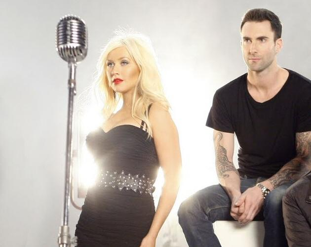 NOUVELLE CHANSON/ NOUVELLE PRESTATION : MAROON 5 feat CHRISTINA AGUILERA – MOVES LIKE JAGGER