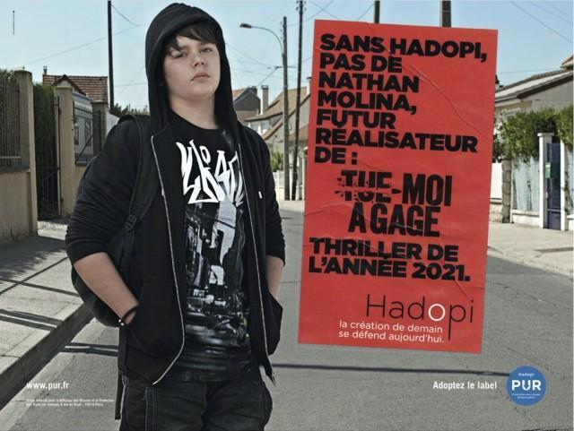 Campagne HADOPI nathan molina realisateur 640x481 Campagne Hadopi PUR vidéos et affiches