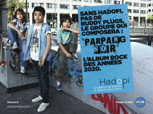 Campagne HADOPI Buddy Plugs 640x480 Campagne Hadopi PUR vidéos et affiches