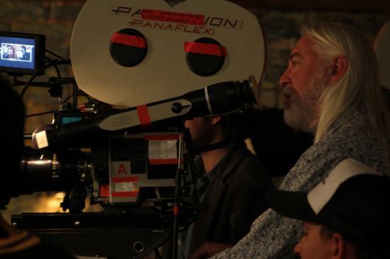 Jackson Rathbones sur le tournage de Live at the Foxes Den
