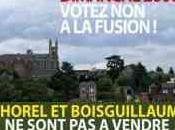 Fusion Bihorel-BoisGuillaume Dimanche Juin, Votons contre Coquille vide