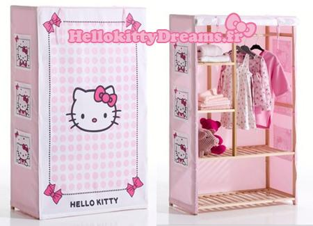 armoire penderie hello kitty france paperblog. Black Bedroom Furniture Sets. Home Design Ideas