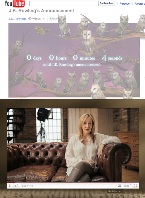 """""""Pottermore is a free website that builds an exciting..."""