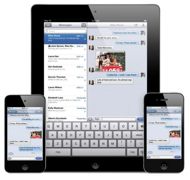 Concept : iMessage sur Mac OS X