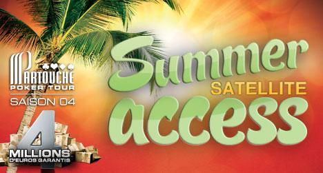Qualifiez-vous online pour les Summer Sats