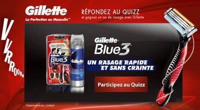 Gillette Blue Pride 3 en Tunisie