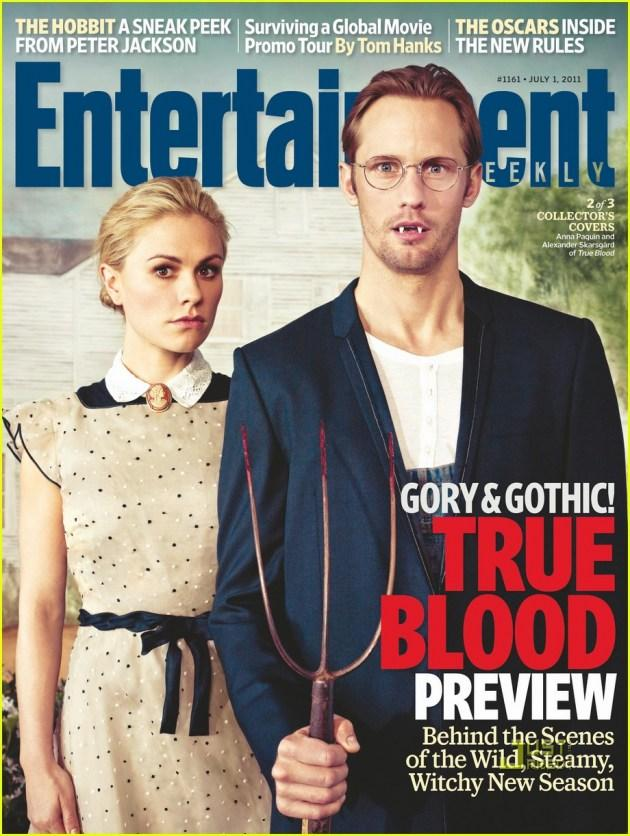 Entertainment Weekly avec True Blood