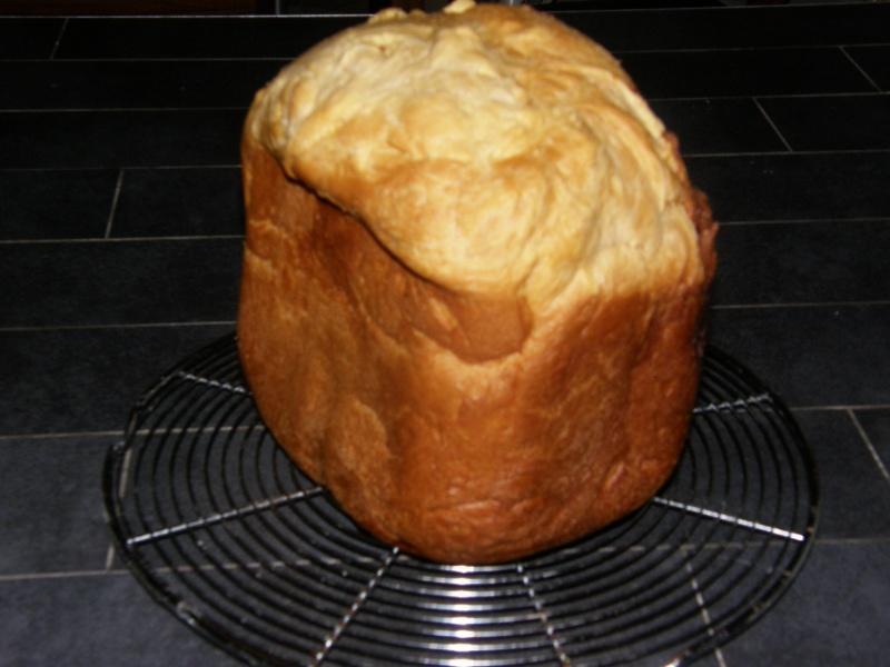 Un bon pain brioché au petit dej c'est une merveille!!