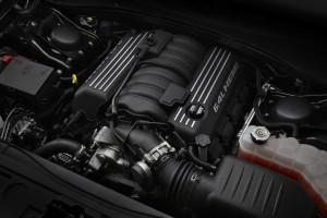 Under the hood of the 2012 Chrysler 300 SRT8, the new 6.4-liter HEMI® V-8 makes its debut in the Chrysler brand product lineup delivering an estimated 465 horsepower and 465 lb.-ft. of torque. Even with the elevated power numbers, an estimated 25-percent fuel economy increase on the highway is achieved by use of a new for 2012 active valve exhaust system that allows the standard Fuel Saver technology (four-cylinder mode) to engage over a wider rpm range.
