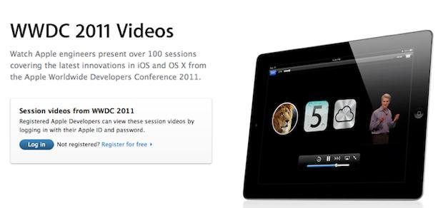 WWDC 2011: Apple le rend disponible sur iTunes