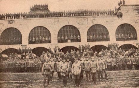 L'Explosion des 18 ponts. Nuit du 10 au 11 janvier 1916.