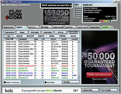 PlayNow(2011-06-23)ListeDesTournois