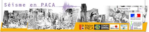 Exemple de réalisation effectuée dans le cadre du Plan Séisme : le site internet www.seisme-1909-provence.fr, le portail du risque sismique en région PACA