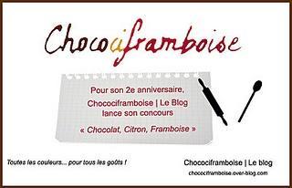 La recette Framboise : Tarte Chocolat Citron Framboise