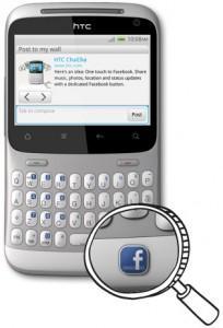 HTC ChaCha tout pour le Tchat