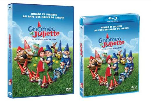 [DVD] Gnomeo et Juliette une attaque de nain dans ton salon