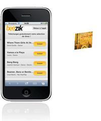 Télécharger de la musique légalement sur iPhone avec Beezik...