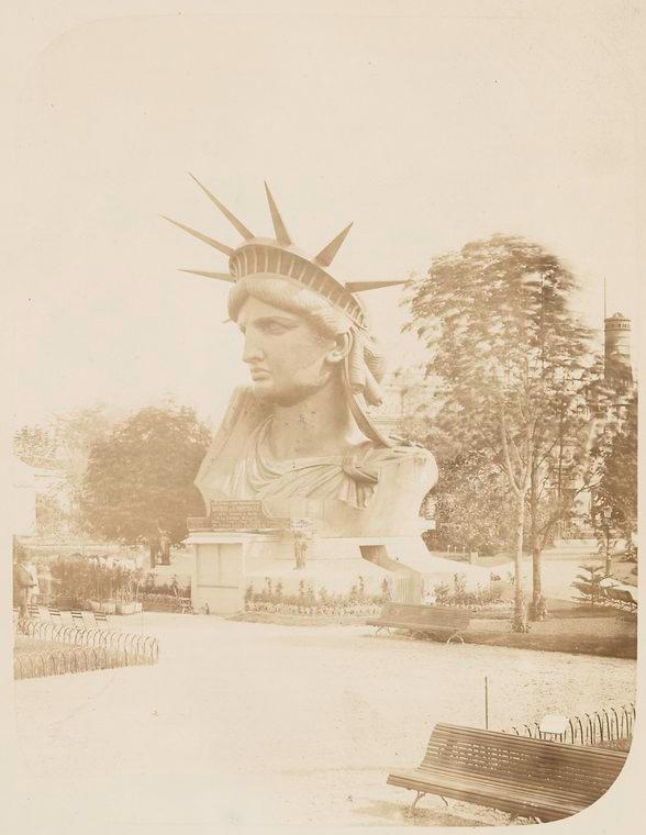 construction statue liberte new york 05 La construction de la Statue de la Liberté à Paris