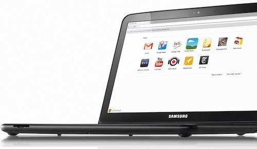 Samsung Serie 5 : le premier Chromebook disponible en France à 399€ !