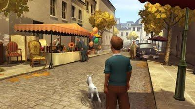 Cinéma et BD : le film d'animation de Tintin sera décliné en jeu vidéo