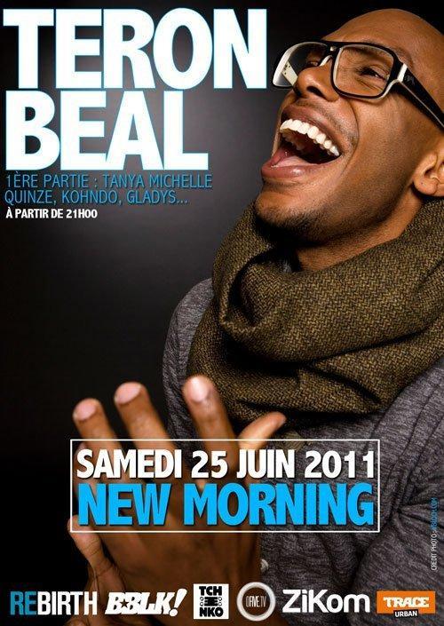 Teron Beal en concert le 25 juin 2011 au New Morning