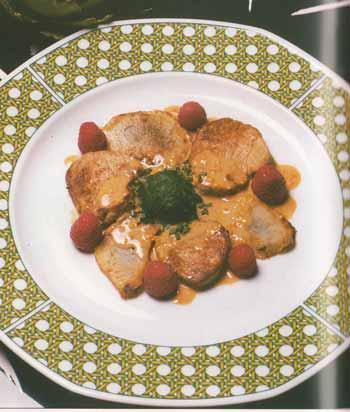 Piccatas de filet de veau aux artichauts