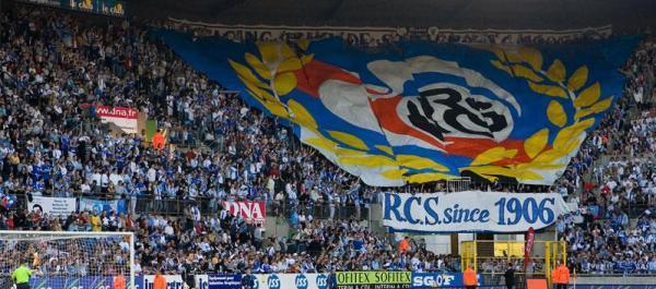 Le RC Strasbourg à la fête