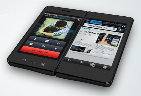imerj smartpad 1 580x393 1 Imerj SmartPad avec double écran
