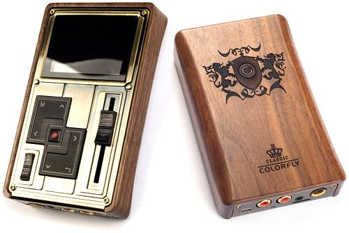 colorfly c4 pro Colorfly Pocket Hifi C4 Pro : un baladeur Steampunk pour audiophiles