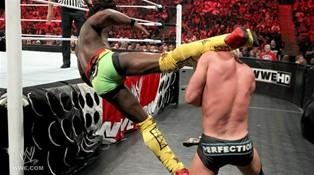 Le nouveau Champion des USA Dolph Ziggler rencontre Kofi Kingston