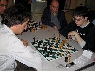Echecs : Olivier Renet face à Maxime Vachier-Lagrave en 2007 © Chess & Strategy