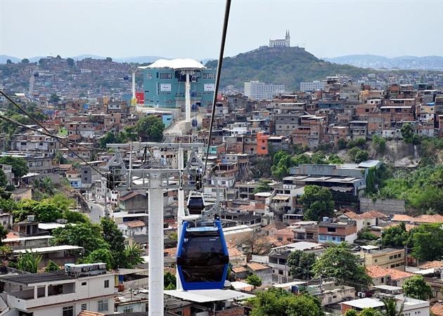 Rio de Janeiro adopte un tramway aérien