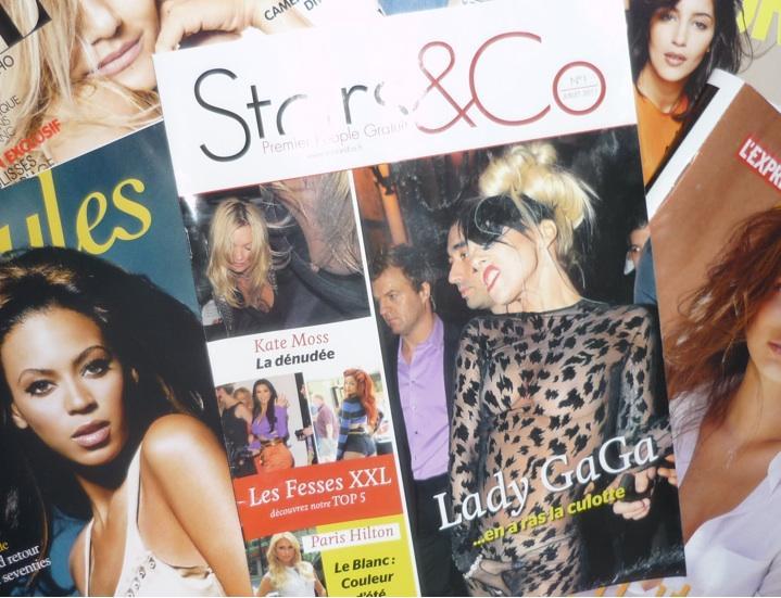 Stars & Co, le 1er magazine people gratuit…